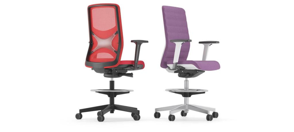 Krzesło wysokie obrotowe WIND