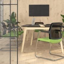 visitor-chair-WIND-meeting-table-NOVA-WOOD