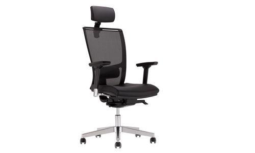 Krzesło biurowe Z-Body czarne z siatką