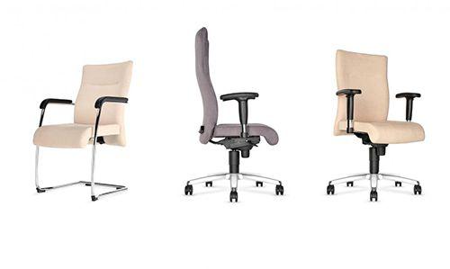 Nowoczesne krzesła i fotele gabinetowe Trinity