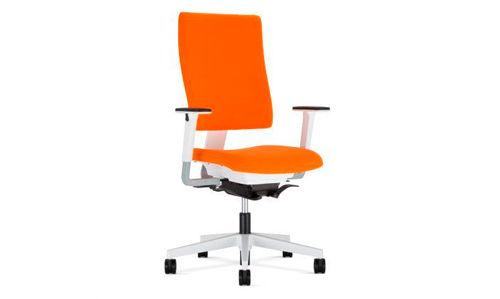 Krzesło biurowe pomarańczowe