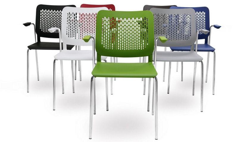 Nowoczesne komfortowe krzesła konferencyjne