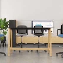 High-swivel-chairs-low-back-WIND-meeting-room-Nova-Wood-high-table3-
